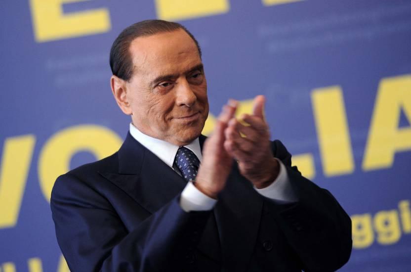 """Berlusconi esclude le larghe intese: """"Senza maggioranza, mi ritiro"""""""
